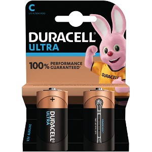 Duracell Ultra Power C Pack von 2