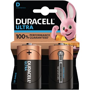 Duracell Ultra Power D Pack von 2