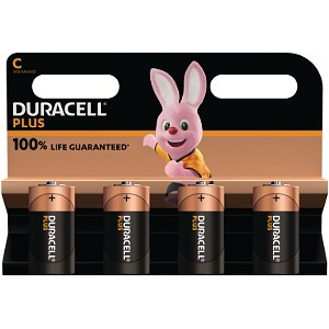 Duracell Plus Power C (4 Stk.)