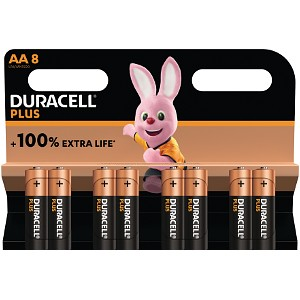 Duracell Plus Power AA 8 Stk.
