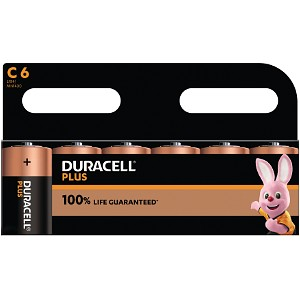 Duracell Plus Power C (6 Stk.)