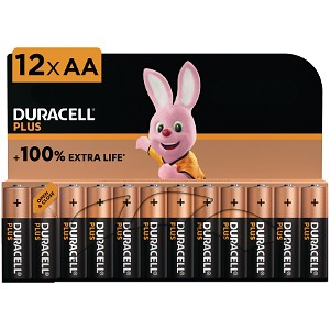 Duracell Plus Power AA 12 Stk.