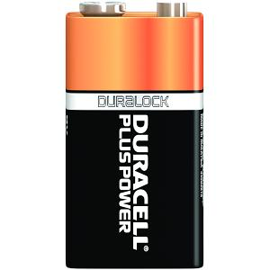 Duracell Plus Power 9v Pack von 4
