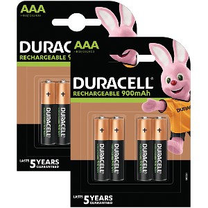 Duracell Pre-Charged AAA 800mAh 8 Pk
