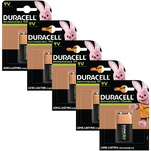 Duracell Rechargeable 9V 5 Stk.