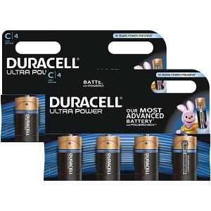 Duracell Ultra Power C Pack von 8