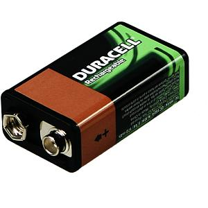 Duracell Rechargeable 9V 1 Stk.