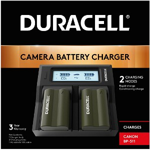 MV630i Duracell Dual DSLR Battery Charger