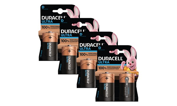 Duracell Ultra Power D Pack von 8