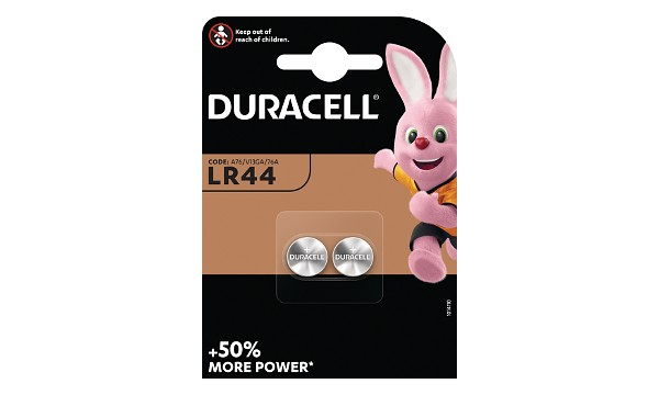 Duracell LR44 Knopfzelle