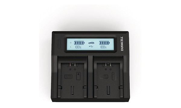 Lumix FZ50EB-K Panasonic CGA-S006 Dual Battery Charger